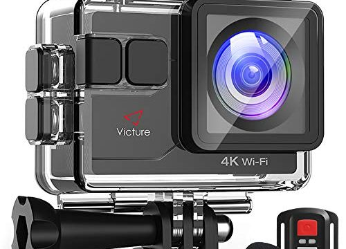 Victure 4K Action Camera 16MP WiFi with Remote Control
